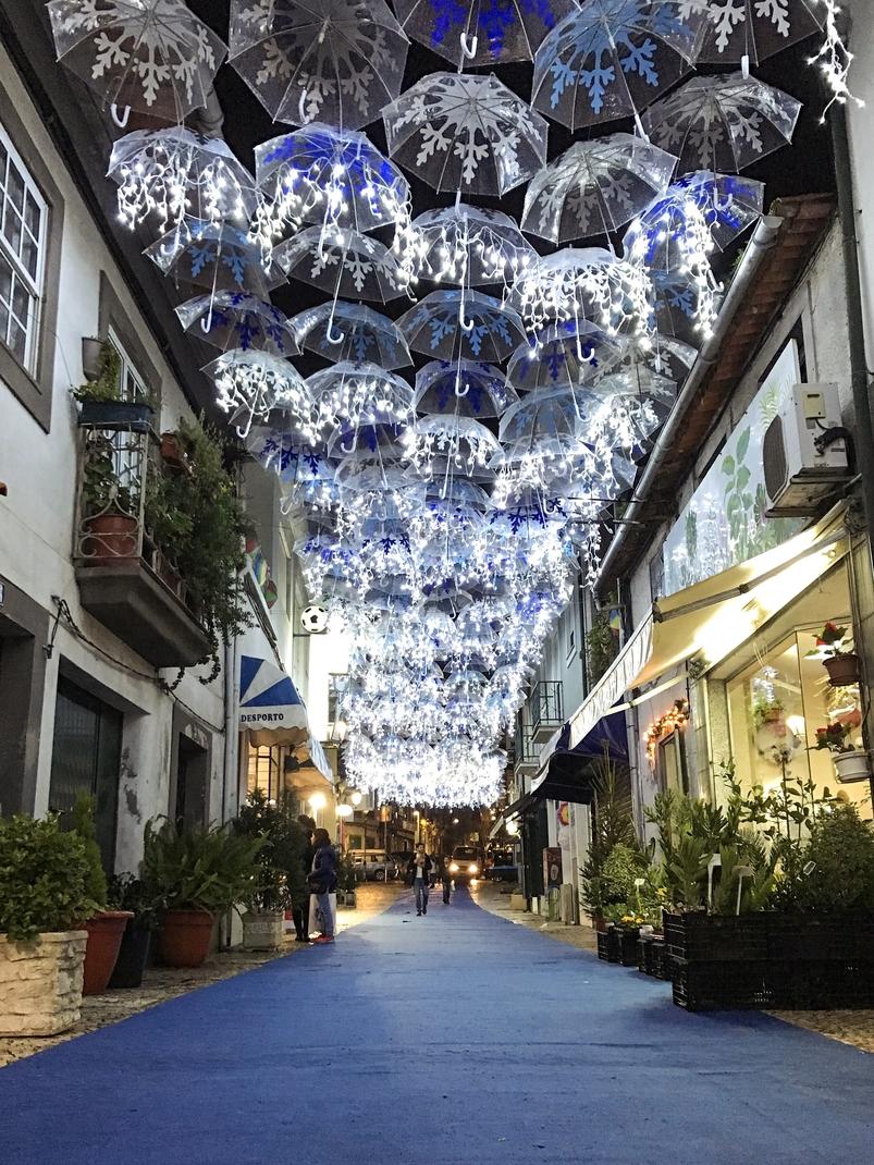 Umbrella Sky Project - Christmas at Águeda'18