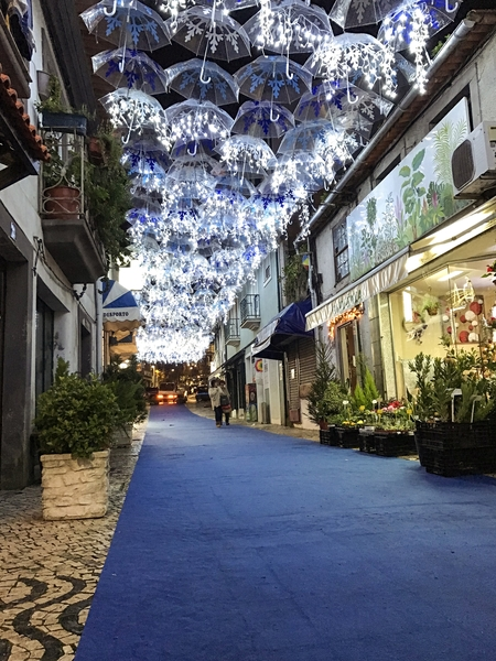 Umbrella Sky Project - Christmas at Águeda'18