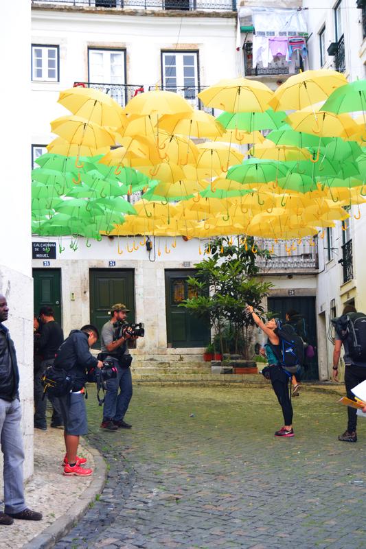 Umbrella Sky Project - Alfama'142