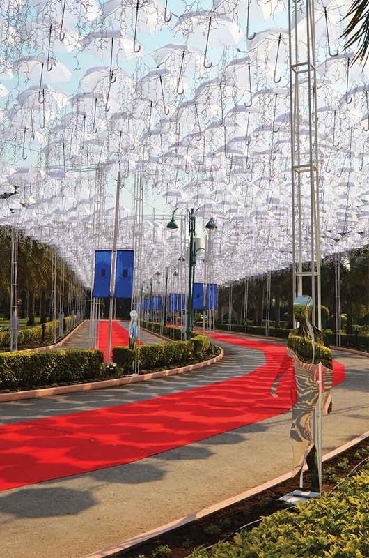 Umbrella Sky Project Natal - Manama'15