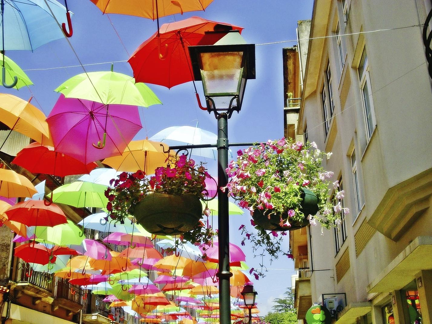 Projet Umbrella Sky - Águeda'12