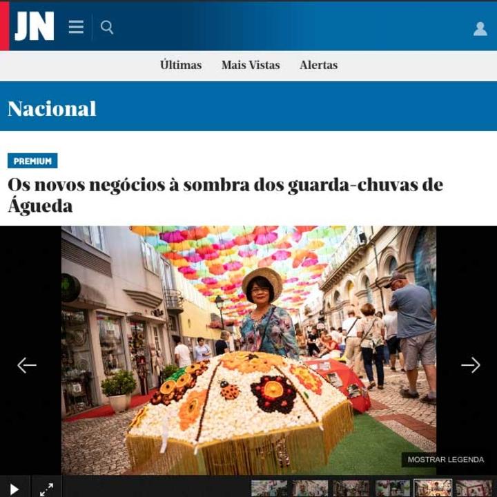 Les nouvelles affaires à l'ombre des parapluies d'Águeda