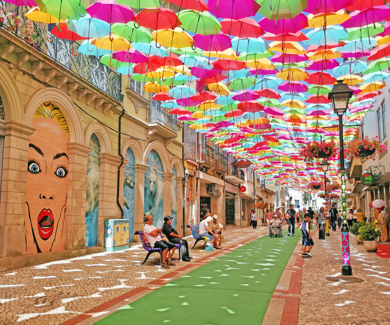 New businesses are flourishing in Águeda under the Umbrella Sky Project