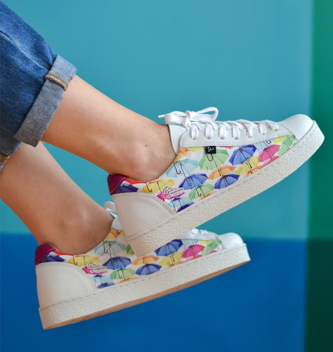 "Sapatilhas ""Walk with Art"""
