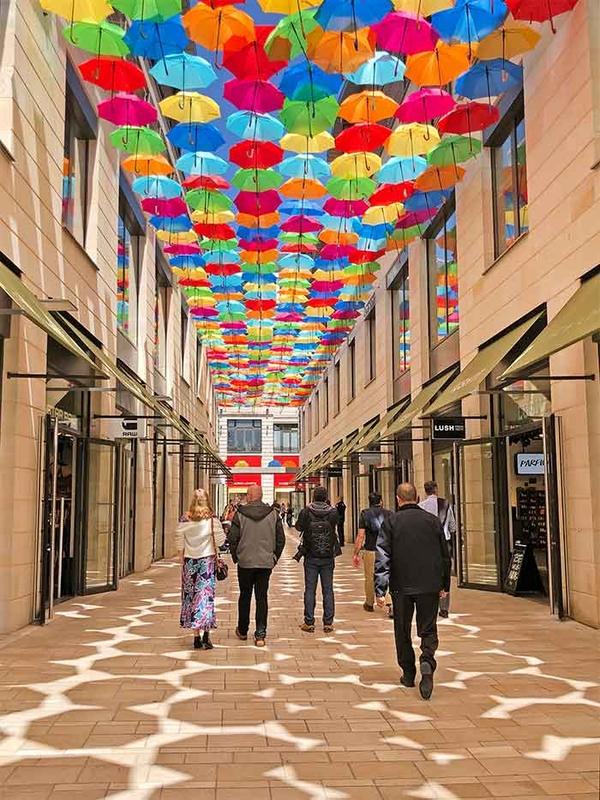 Umbrella Sky Project - Bordeaux'190