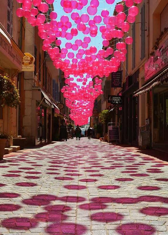 Pink Bubble Sky - Sanary-sur-Mer'17