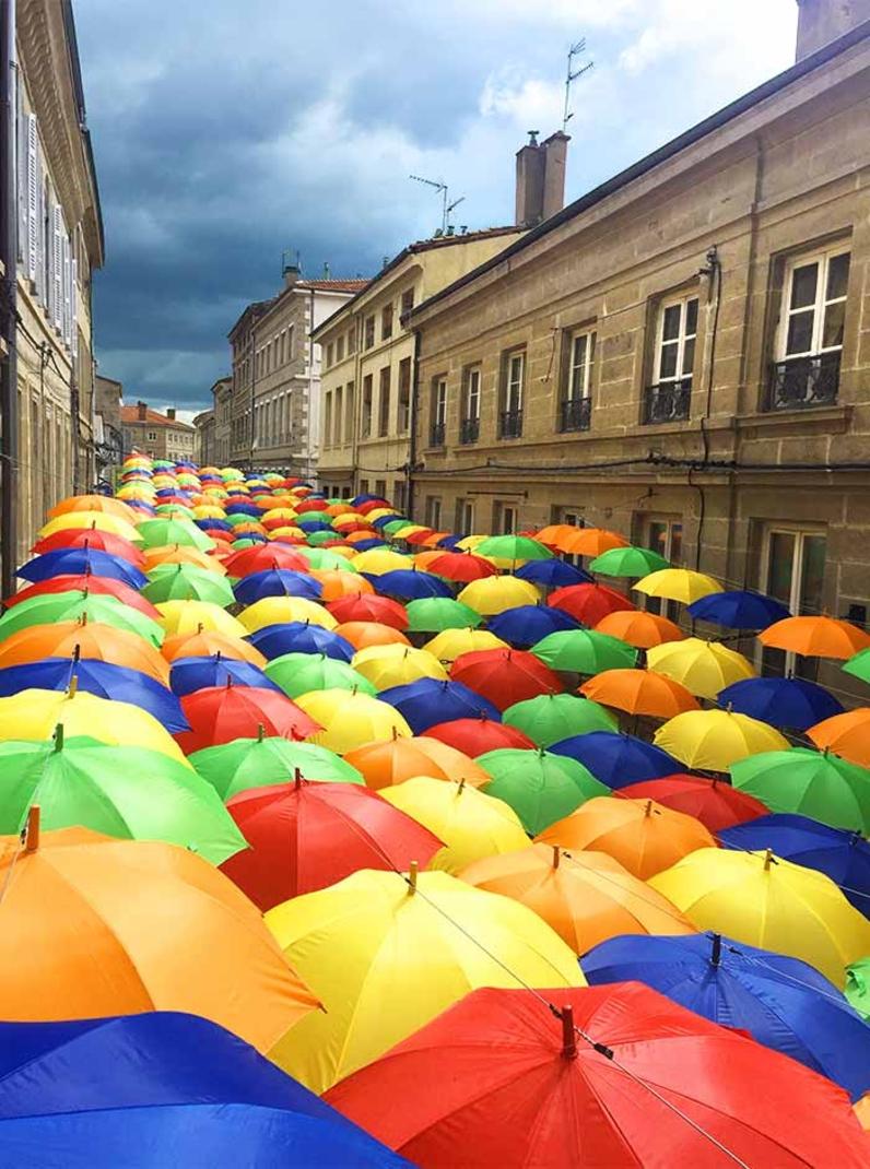 Umbrella Sky Project - Saint-Chamond'16