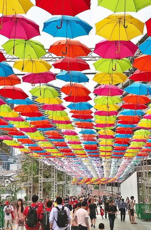 Umbrella Sky Project - Hiroshima'180