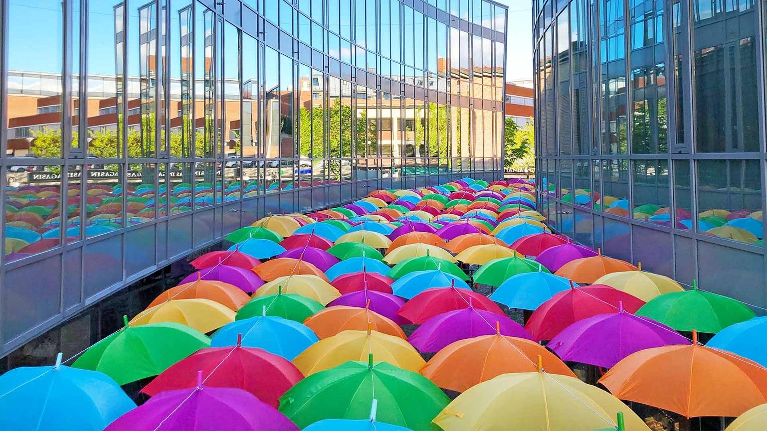 Umbrella Sky Project - Asker'19