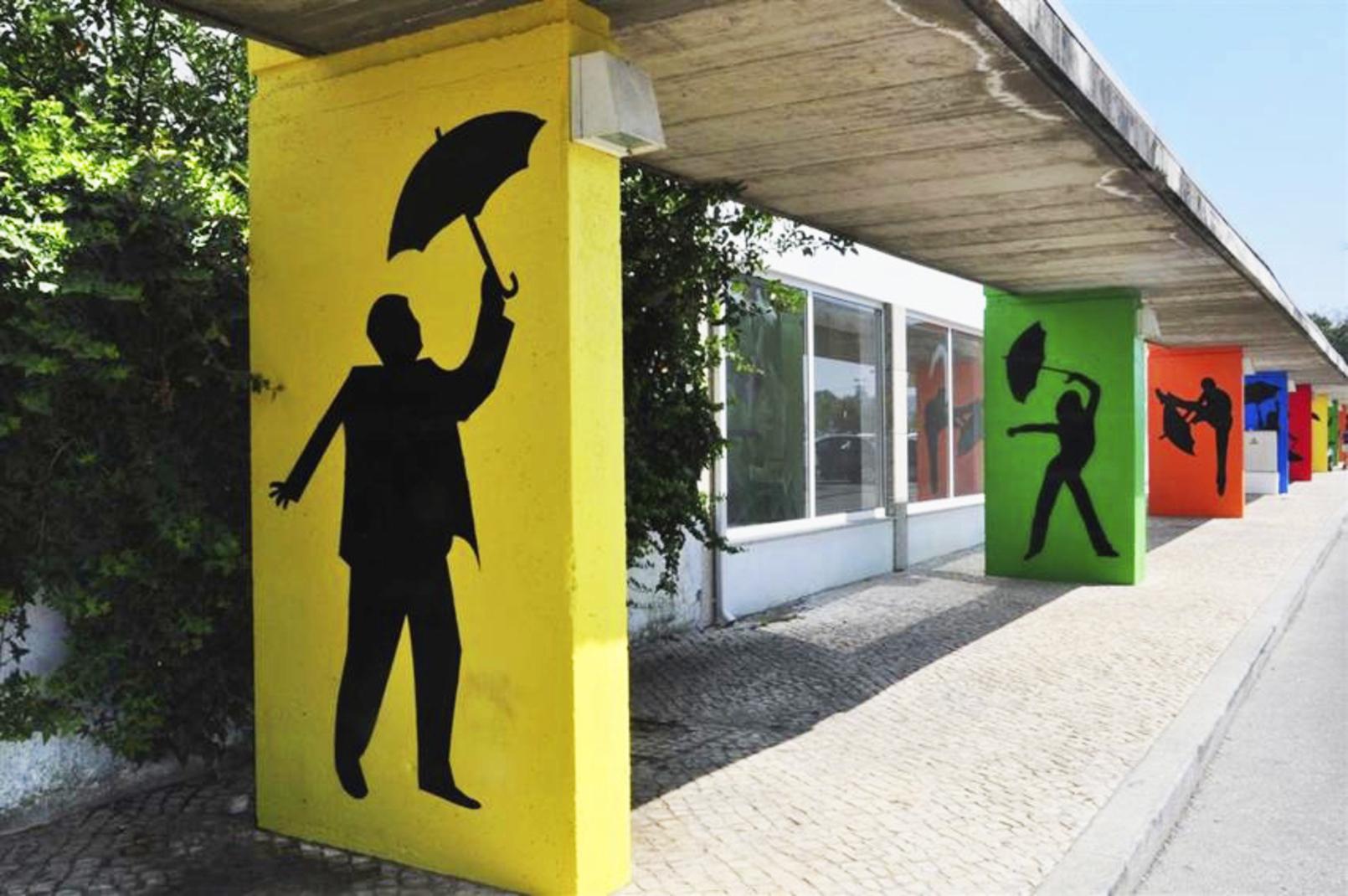 Umbrella Sky Project - Águeda'13