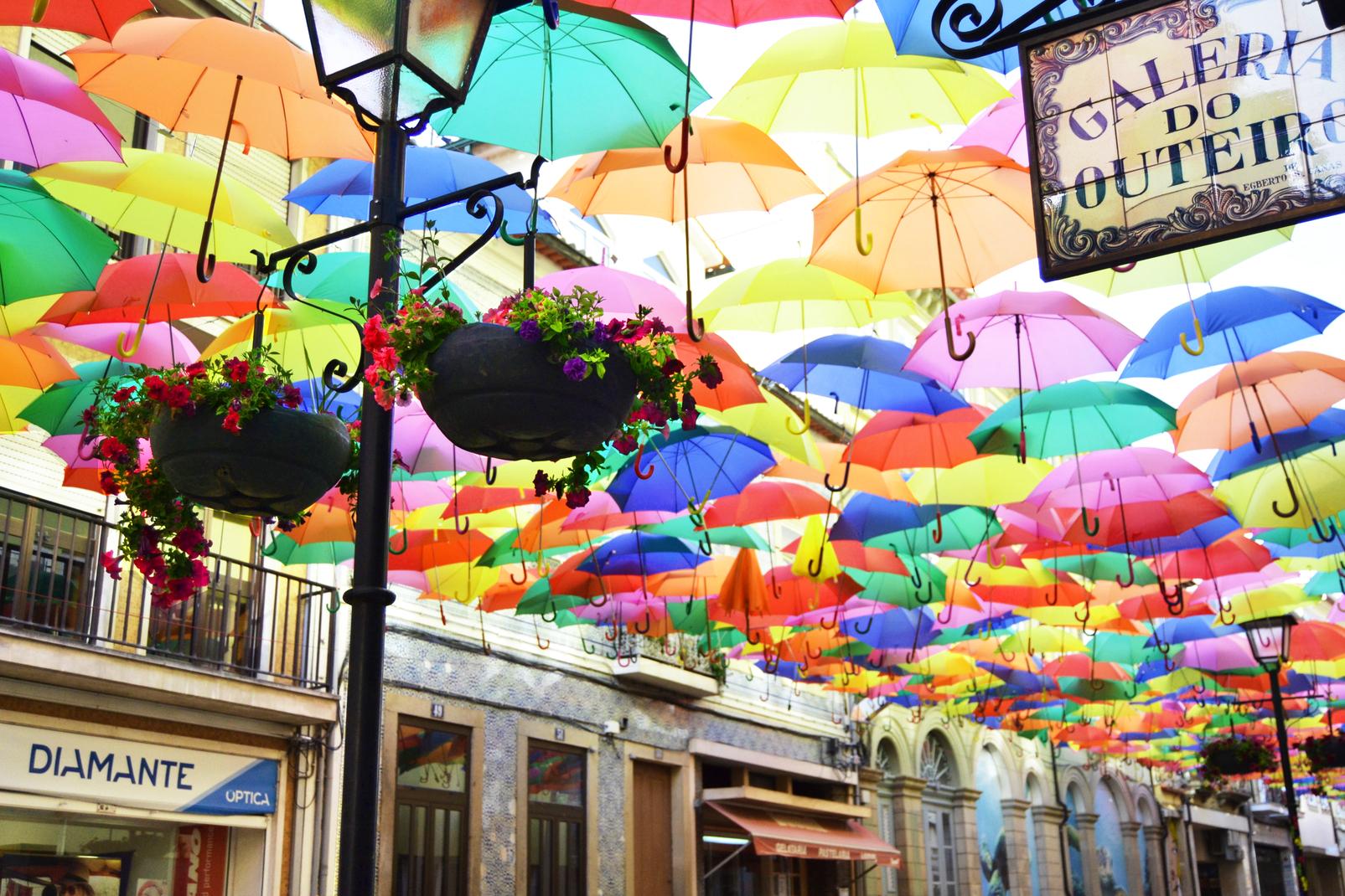Umbrella Sky Project - Águeda'15