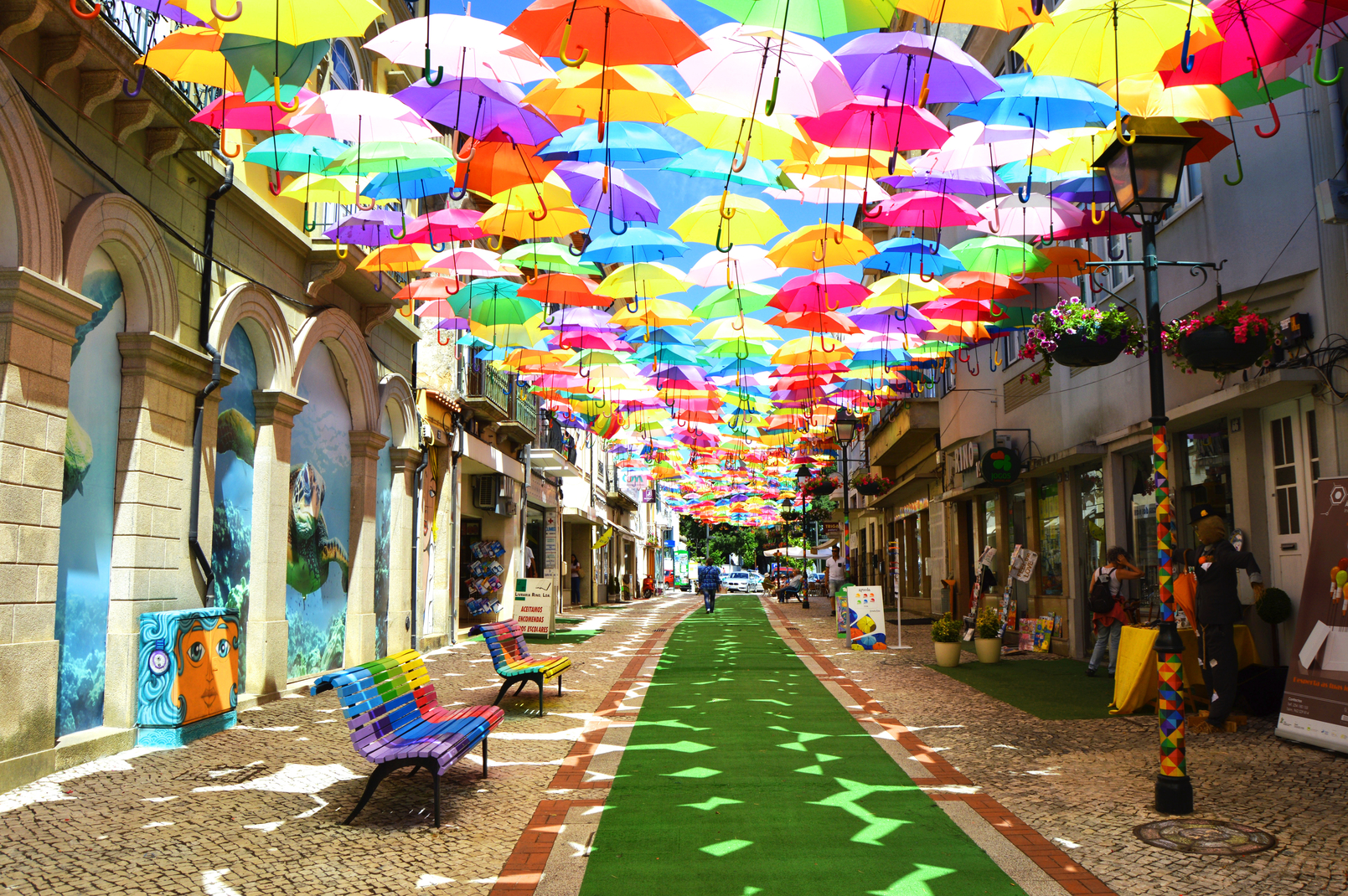 Projet Umbrella Sky - Águeda'16