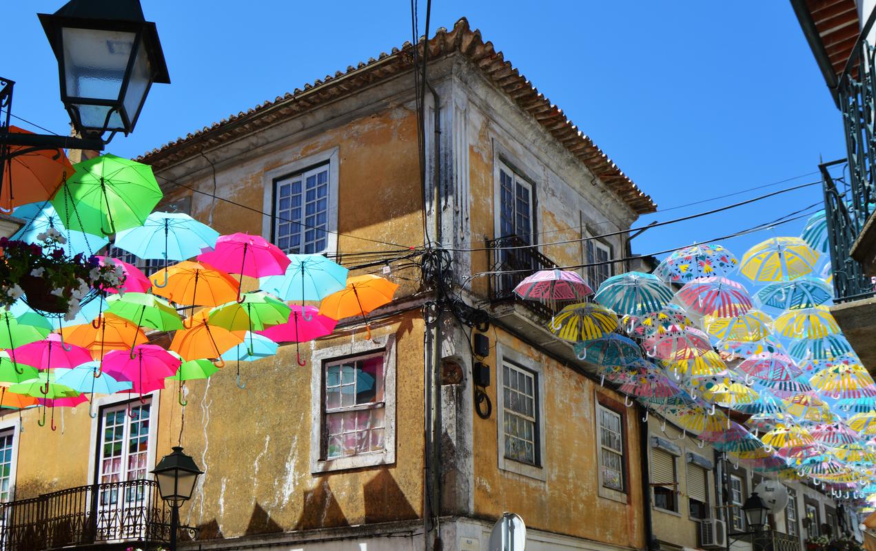 Umbrella Sky Project - Águeda'17
