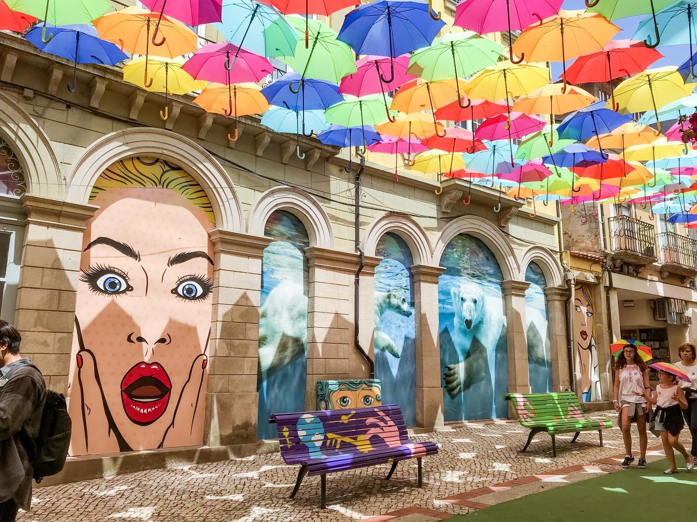 Umbrella Sky Project - Águeda'18