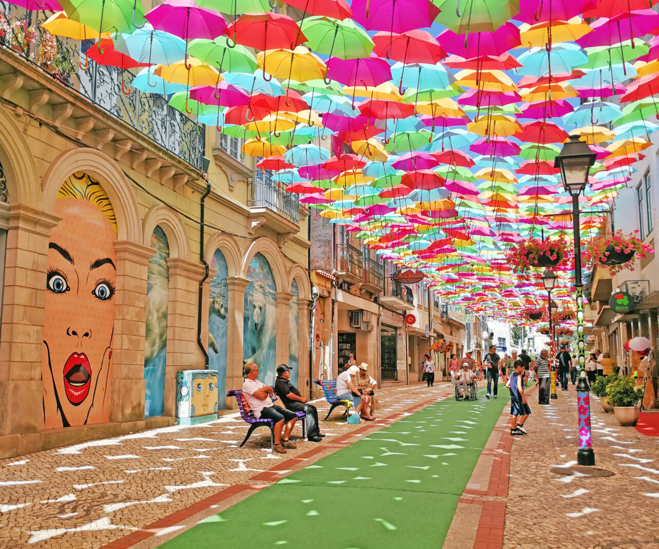 Águeda: Luís de Camões Street is one of the most beautiful in the world