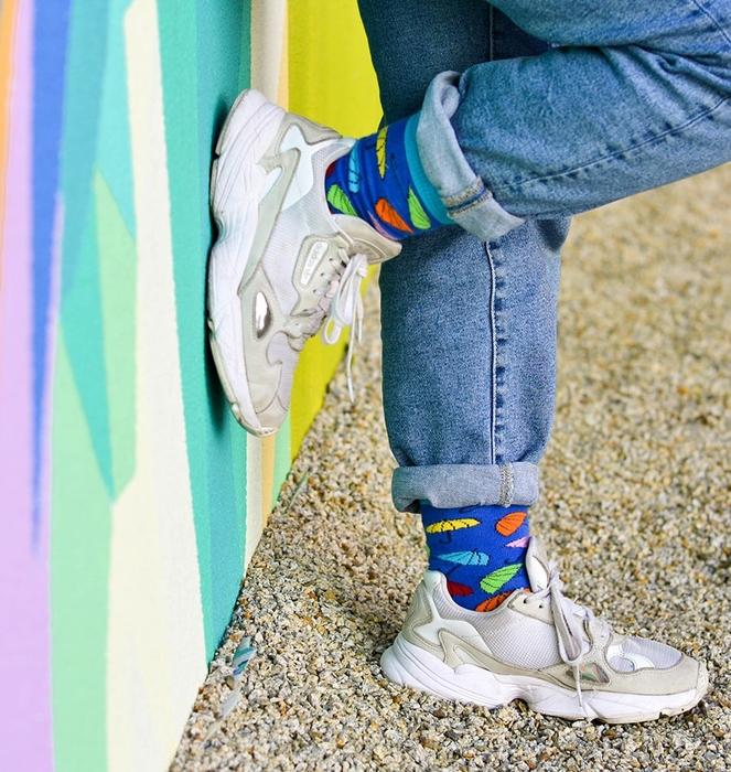 "Socks ""Colorful Umbrellas"" 0"