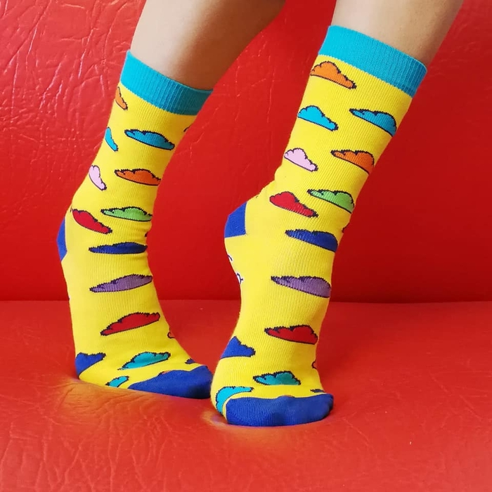 """Socks """"In the Clouds"""" 4"""