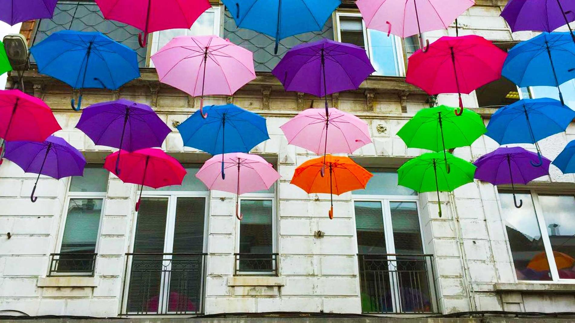 Umbrella Sky Project - Lens'17