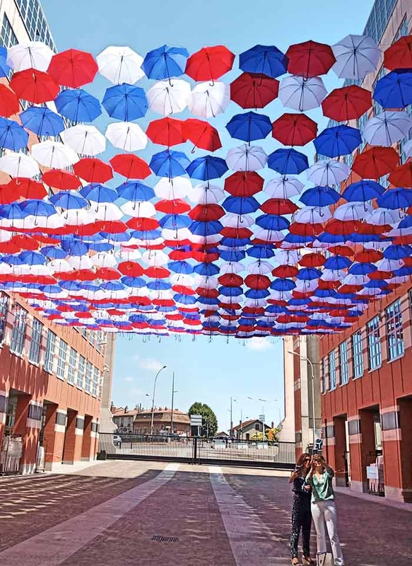 Umbrella Sky Project - Toulouse'190
