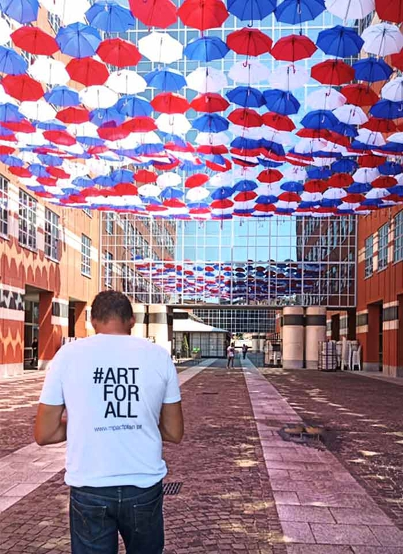 Umbrella Sky Project - Toulouse'191