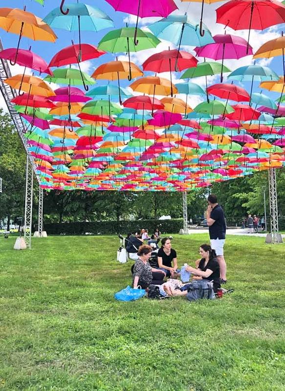 Umbrella Sky Project - Drammen'190