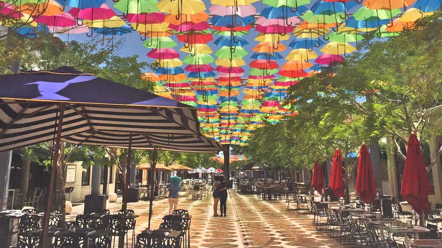 Umbrella Sky Project - Coral Gables'18