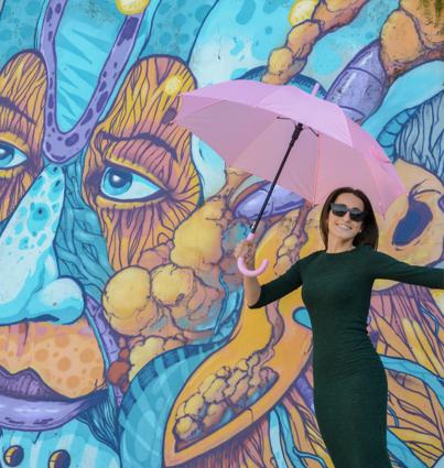 """Guarda-chuva """"Umbrella Project"""""""