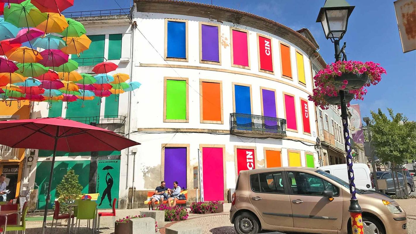 Colorir a cidade com a CIN - Águeda'19