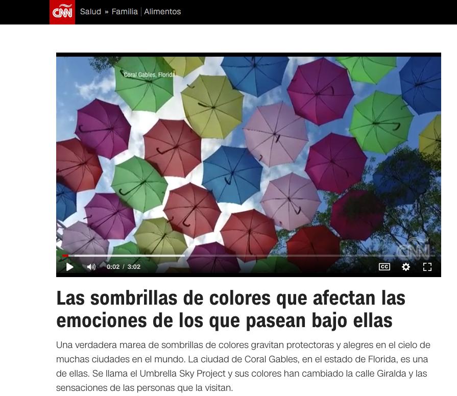 Os guarda-chuvas coloridos que afetam as emoções daqueles que andam sob eles 0