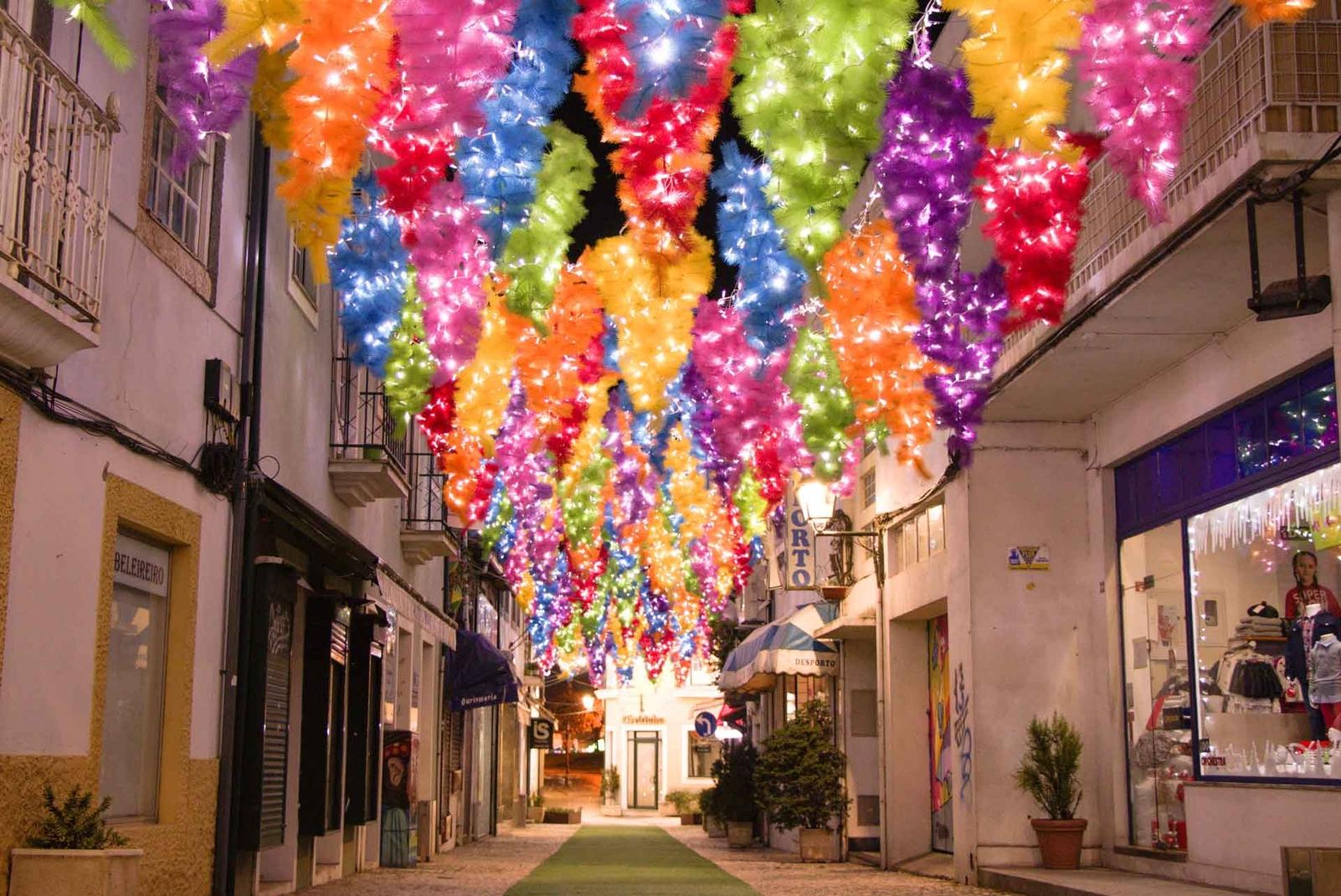 Projet Umbrella Sky - Noël à Águeda '19