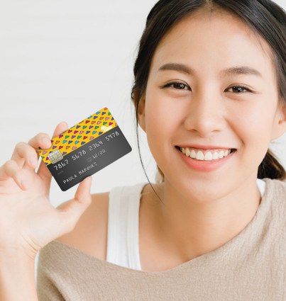 Vinil para cartão multibanco
