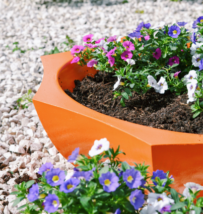 Colorful Planter without handle