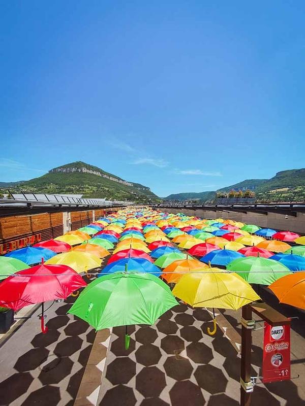 Umbrella Sky Project - Millau'20
