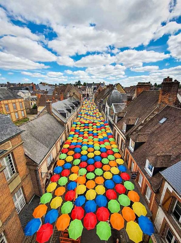 Umbrella Sky Project - L'Aigle'202
