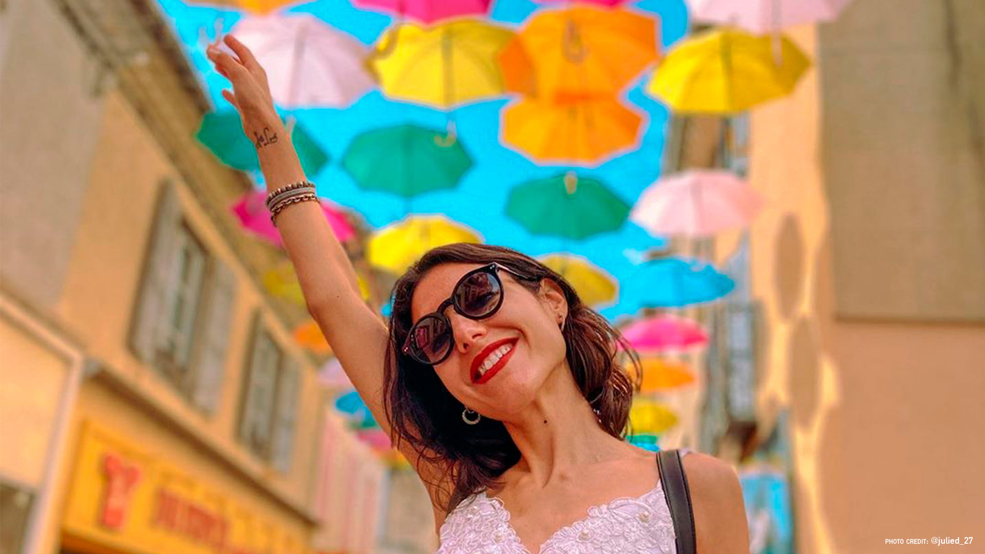 Umbrella Sky Project - Carcassonne'20