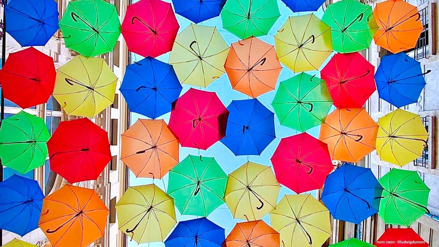 Umbrella Sky Project - Bourges'20