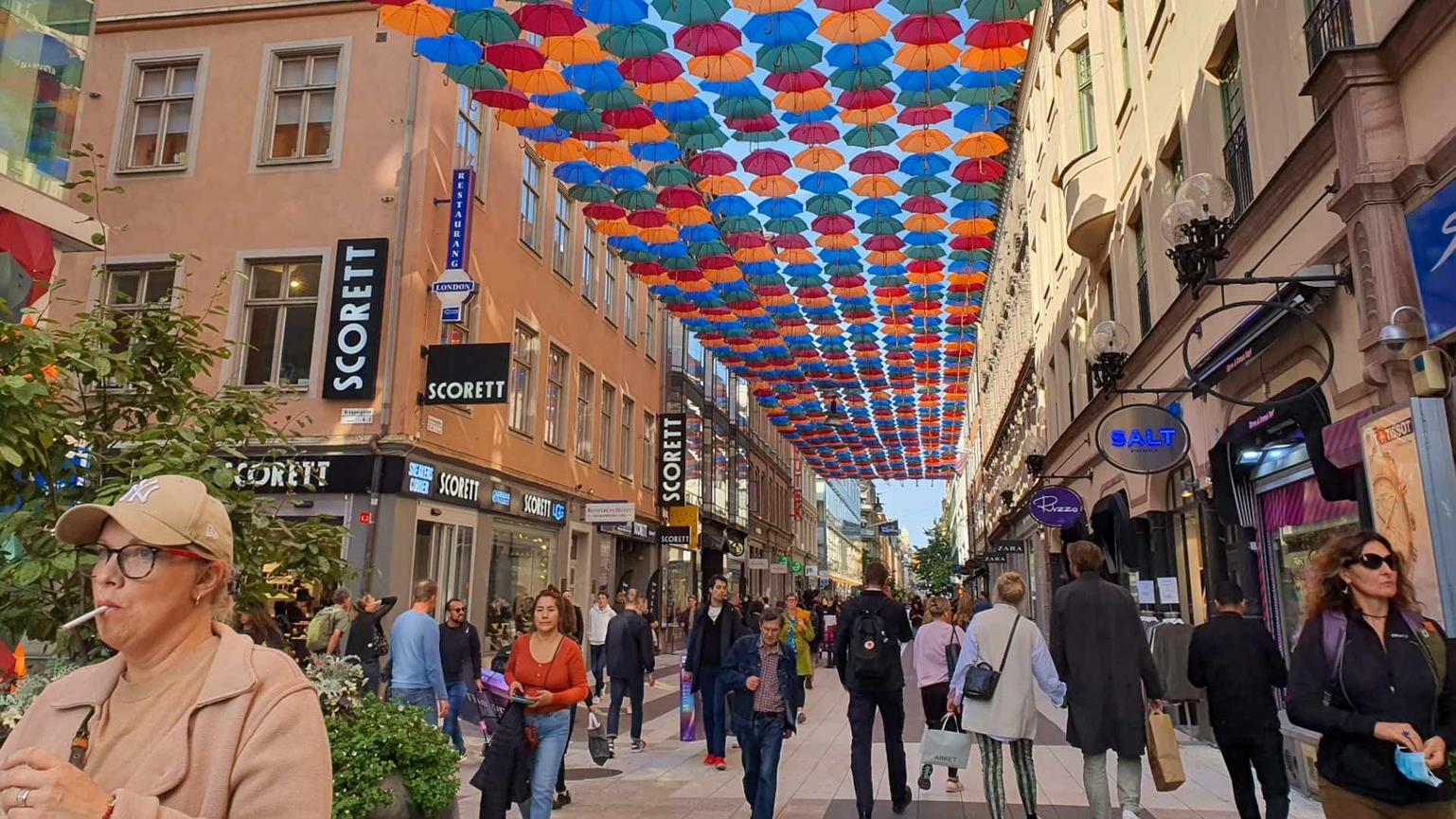 Umbrella Sky Project - Stockholm'20