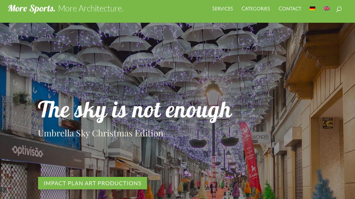 O céu não chega - Umbrella Sky, Edição de Natal 1