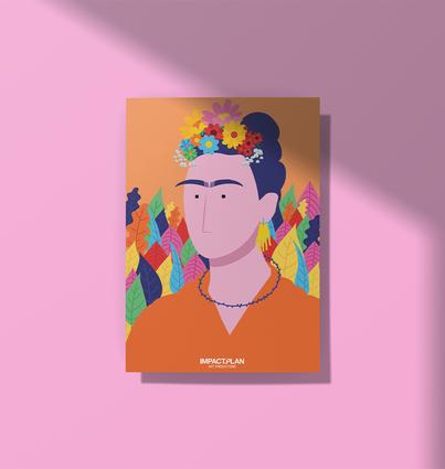 "Poster ""Frida Kahlo"""