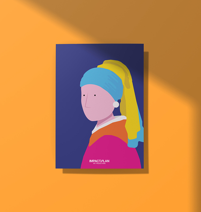 """Poster """"Girl with a Pearl Earring"""""""