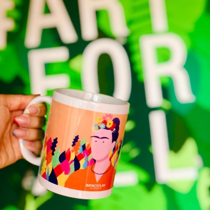 """Mug """"Frida Khalo"""" 4"""