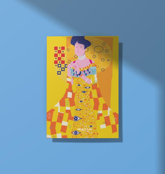 """Poster """"O Beijo"""" 1"""