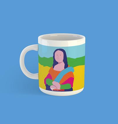 """Mug """"Mona Lisa"""""""