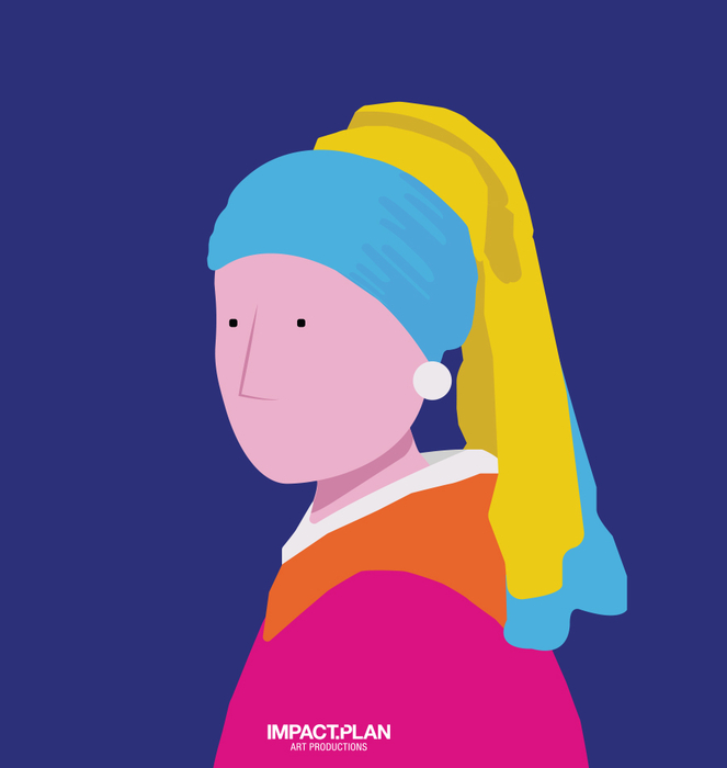"""Caneca """"Girl with a Pearl Earring"""" 0"""