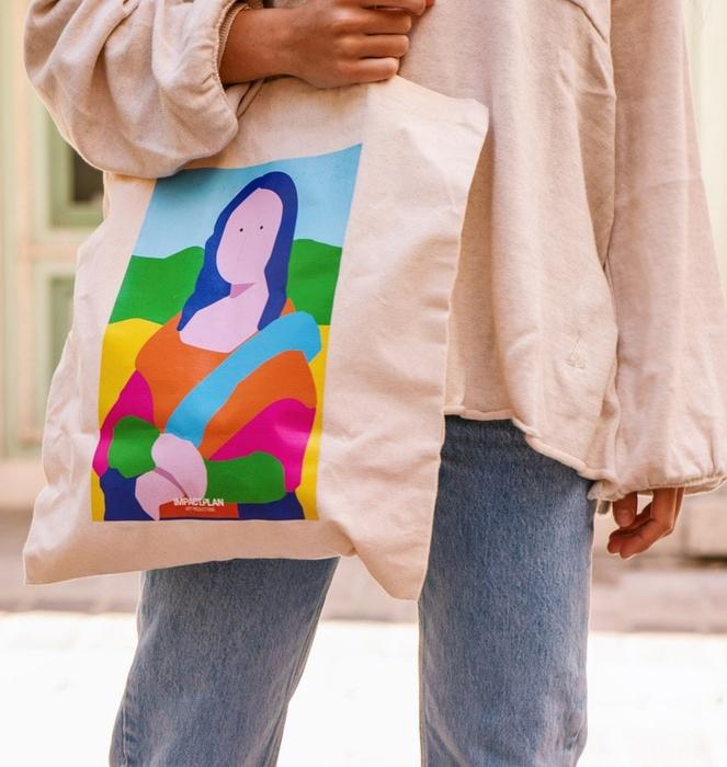 """Bag """"Mona Lisa"""" 3"""