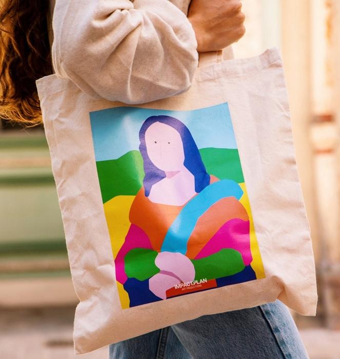 """Bag """"Mona Lisa"""" 4"""