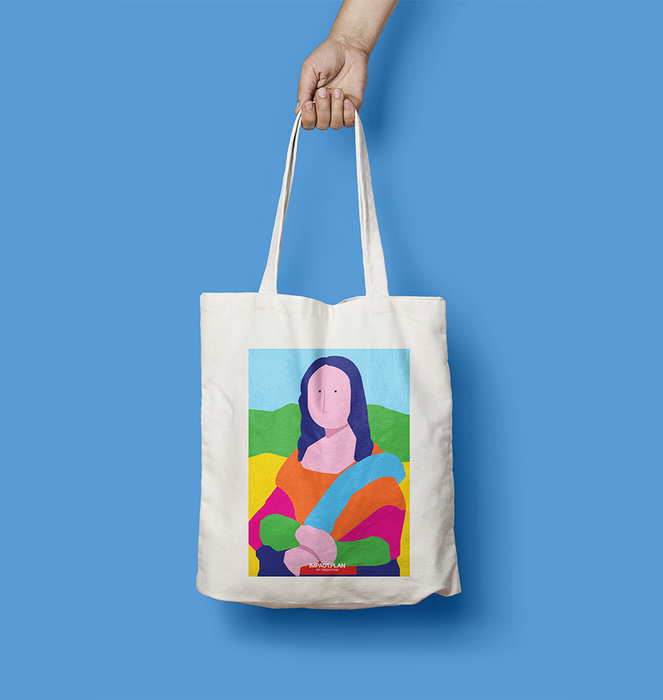 "Saco ""Mona Lisa"" 1"