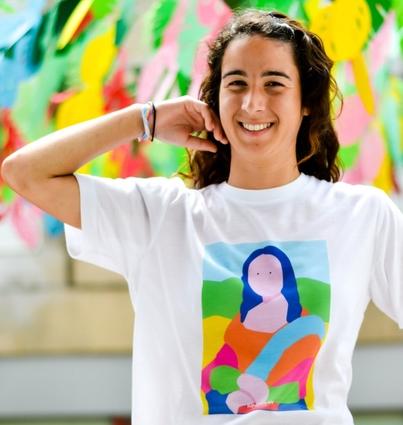 """T-shirt """"Mona Lisa"""""""