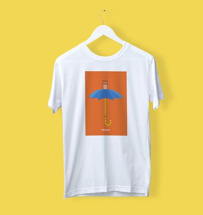 """T-shirt """"As Férias de Hegel"""""""