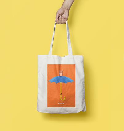 "Tote Bag ""Hegel's Holiday"""